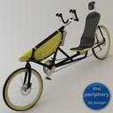 recumbent bicycle 3D models