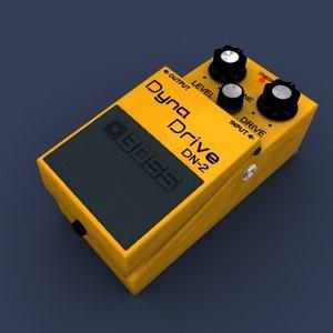 3dsmax dyna drive pedal