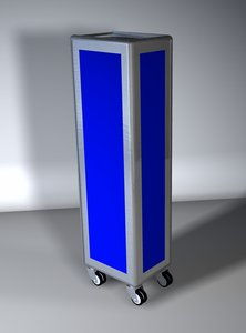 3d model of trolley airlines