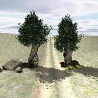 tree fantastictree story 3d model