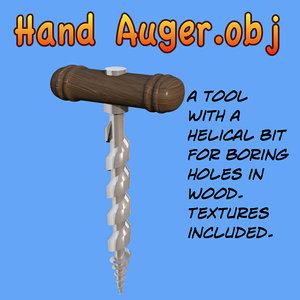 maya hand auger