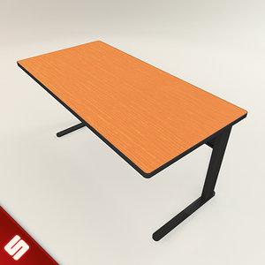 work desk 3ds free