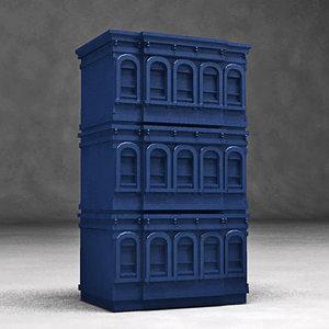 brownstone floors 3d model