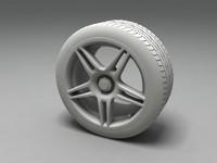 enzo rim tyre 3d model