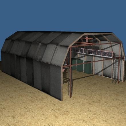 3ds military hangar