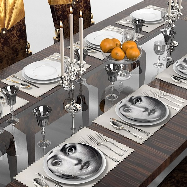 Lanpas Art Deco Neo Classic Dining Table Chair High Appointments Modern  Contemporary Luxury Serving Set Laying