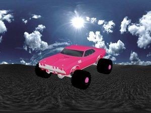 3d monster truck model