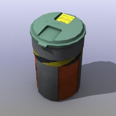 plastic barrel games 3d max