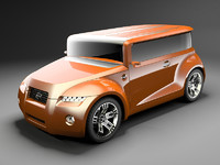 max scion hako coupe concept