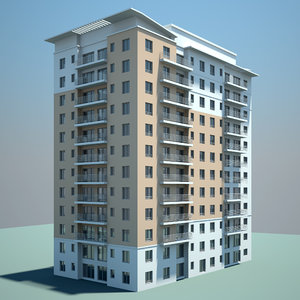 residential building cityscape max