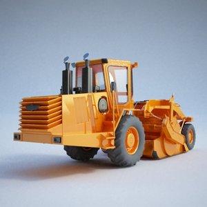 wheel construction - 3d model