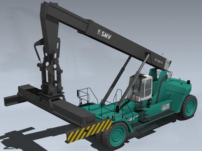 3d smv cargo loader
