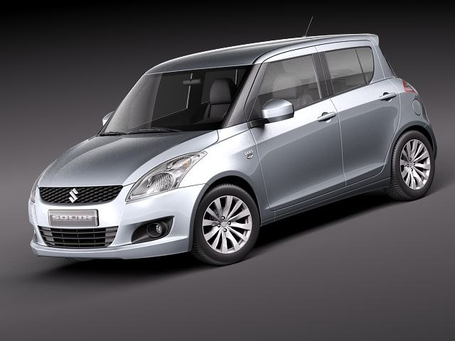 3d suzuki swift 2011 model
