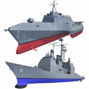 lightwave navy ship