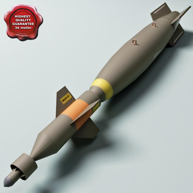 3ds aircraft bomb gbu-10 paveway