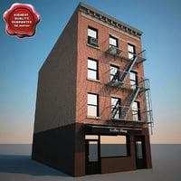 3d building v5 model