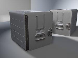 box catering 3d model