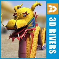 Chinese dragon by 3DRivers