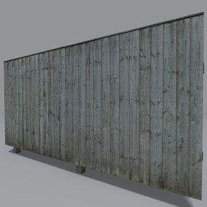 3d 3ds wooden panel coz070901061