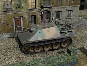 3ds tank jagdpanther