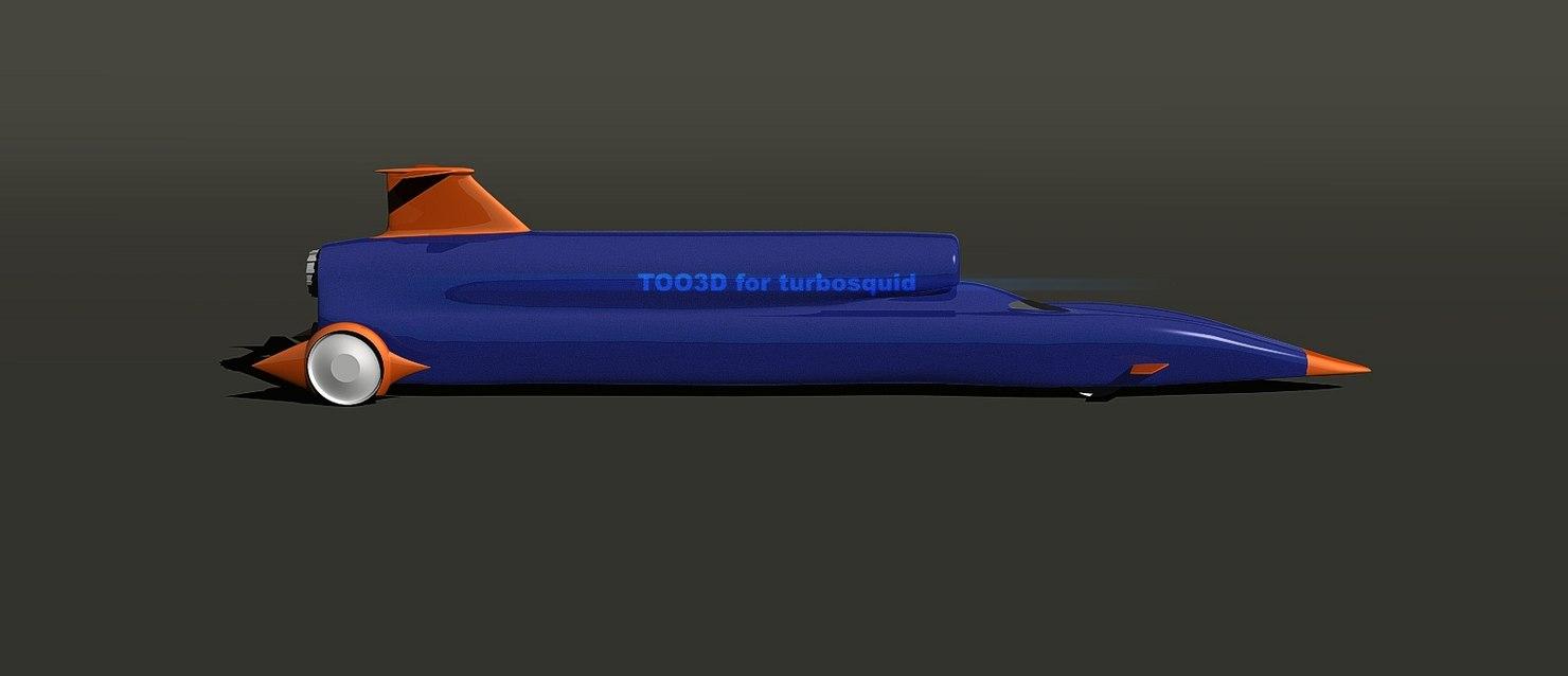 ssc bloodhound 3d model