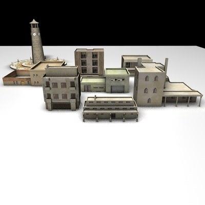 arabhome arabhouse arab building 3d c4d