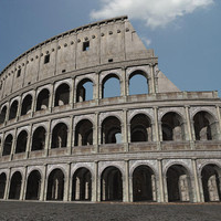 colosseum roman ruins 3d model