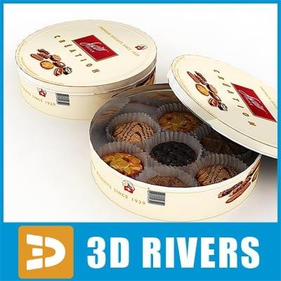 3ds max box cookies