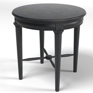 drexel lamp table 3d max
