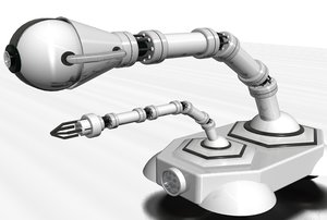 robotic arm camera 3d model