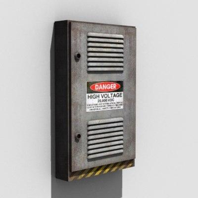 power equipment wall 3d 3ds