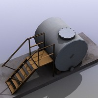 low-poly tank max