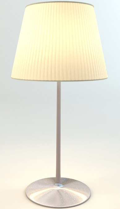starck romeo table lamp 3d 3ds