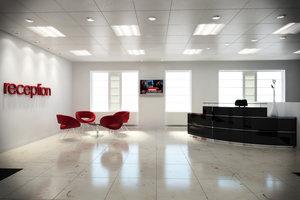 3d model complete office reception area