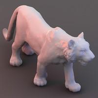 maya scan tiger