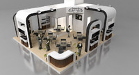 fair stand ozgold favori 3d model