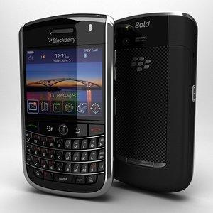 3d c4d blackberry tour 9630