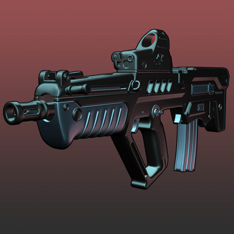 max tavor tar-21 assault rifle