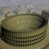Ancient Rome Buildings Set