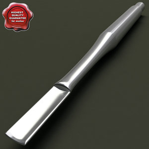 medical instrument chisel 3d model