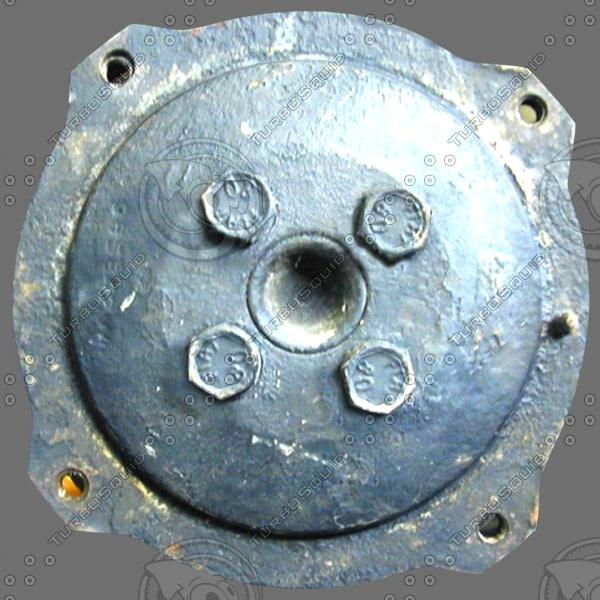 3d max riveted metal
