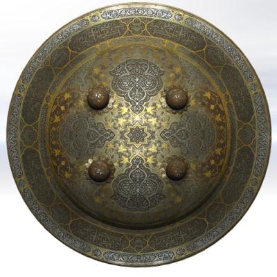 3dsmax shield