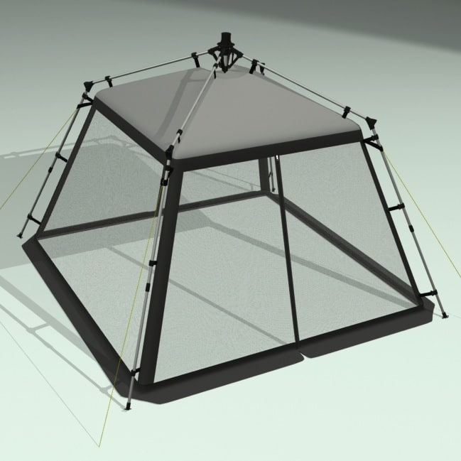 Tent 3d Model Blender: Camping Tent Shade 3d Lwo – Quotes of the Day