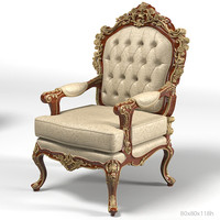 asnaghi leroy 98651 classic baroque armchair chair dining carved