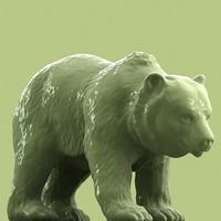 3d model scan bear