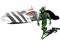 3d model nemesis warlock blitzspear