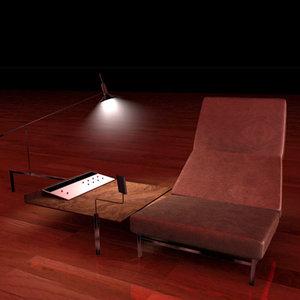 chair console 3d model