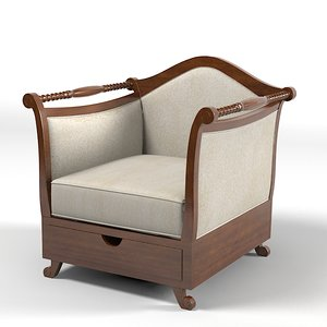 dolfi chair armchair 3d max