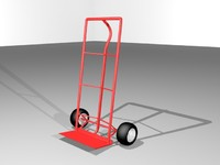 dolly cart 3d model