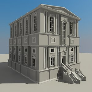 3ds max classic building